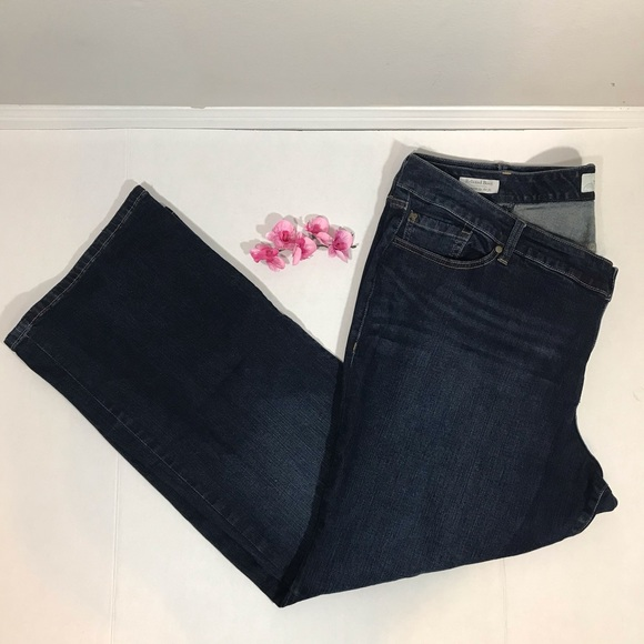 TORRID Relaxed Dark Wash Boot Cut Jeans Size 24